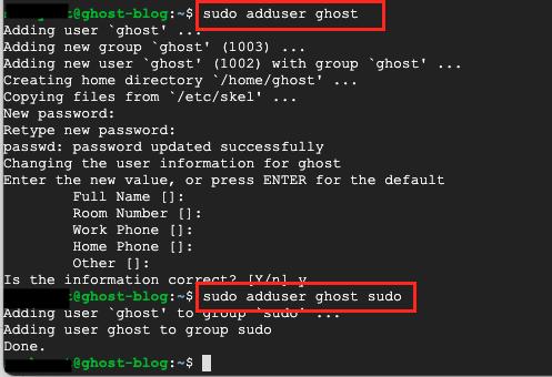 Ubuntu add sudo user