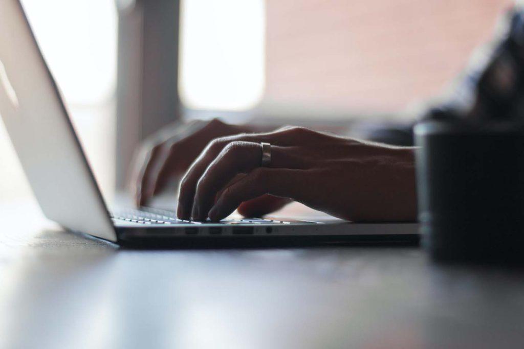 laptop enter form data